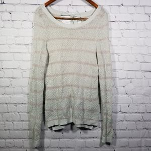 LC Lauren Conrad Sweater Long Sleeve Tie Back